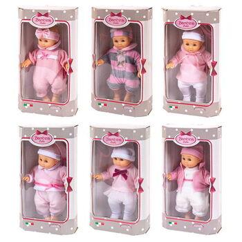 Пупс-кукла Bambina Bebe, тм Dimian, 20 см, 6 видов