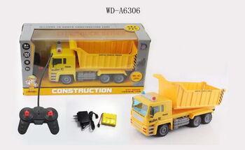 Радиоуправляемый самосвал грузовик 37,5х12,5х19 см