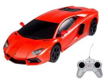 Машина Rastar 46300 Lamborghini Aventador LP700 1:24, цвет оранжевый