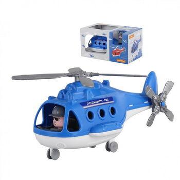 Вертолёт полиция Альфа (в коробке) 29х16,5х15,5 см