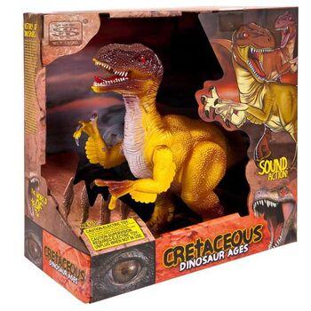 Интерактивный динозавр, световые и звуковые эффекты