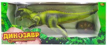 Динозавр на р/у, световые и звуковые эффекты, 46,5х20х14 см