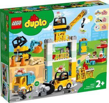 Конструктор LEGO DUPLO Town Башенный кран на стройке