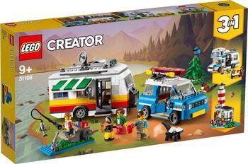 Конструктор LEGO CREATOR Отпуск в доме на колесах