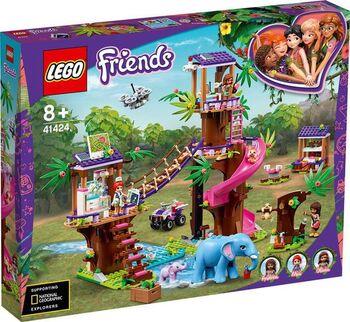 Конструктор LEGO Friends Джунгли: штаб спасателей