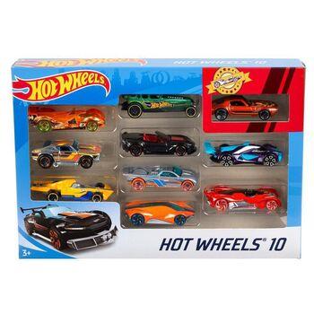 Hot Wheels. Набор Подарочный 10 машинок, в ассортименте