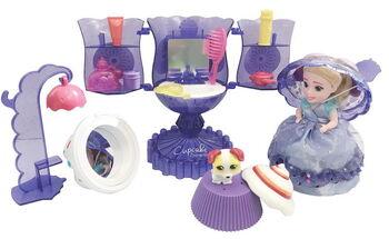 Cupcake Surprise. Набор Мороженое - Туалетный столик с Куклой - Капкейк и питомцем