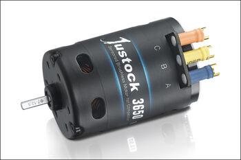 Бесколлекторный сенсорный мотор Xerun 3650 SD 21.5t для шоссейных и дрифтовых моделей масштаба 1:10