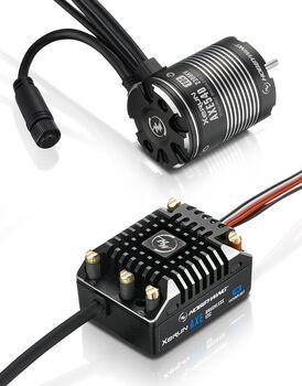 Бесколлекторная сенсорная система Xerun COMBO AXE 540 1800KV FOC для краулеров масштаба 1:10