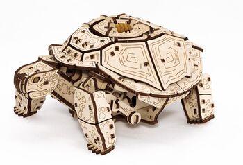Конструктор деревянный 3D EWA Механическая Черепаха