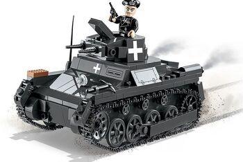 Пластиковый конструктор COBI Panzer I Ausf. A