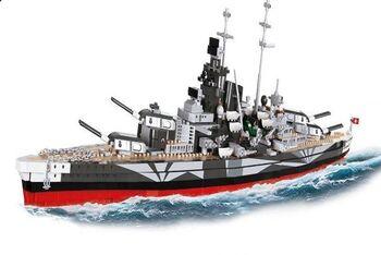 Пластиковый конструктор COBI Pancernik Tirpitz