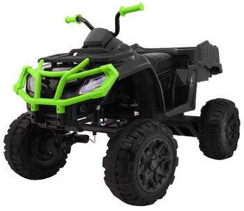Электроквадроцикл Grizzly Next Green/Black 4WD с пультом управления 2.4G - BDM0909