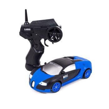 Радиоуправляемая машина для дрифта Bugatti Veyron (19 см, 15 км/ч, сменные колеса, фишки) - SC24A04