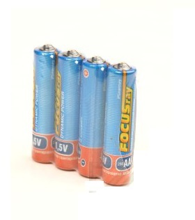 Батарейка FOCUSray DYNAMIC POWER R03/S4 Типоразмер: AAА/мизинчиковая, 4 штуки в упакавке