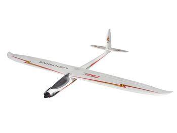 Радиоуправляемый планер Top RC Lightning V2 (Propeller Power System) 1500мм 2.4G 4-ch LiPo RTF