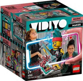 Конструктор LEGO VIDIYO Битбокс Пирата Панка