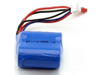 Аккумулятор 18350 Li-Ion 7.4v 600mah разъем JST