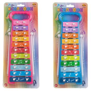 Ксилофон детский, 11 клавиш, на блистере 34,5x2x14