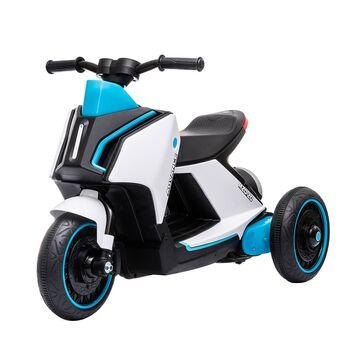 Детский электромобиль скутер трицикл BMW Concept Link Style 6V 2WD - HL700-3-WHITE