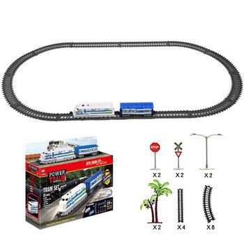 Железная дорога BSQ, длина полотна 215 см - BSQ-20831