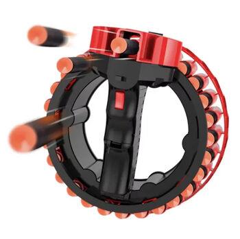 Бластер D-Dart Growler с автоматическим механизмом и мягкими пулями - CS-H01