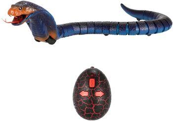 Радиоуправляемый робот ZF Змея-кобра синяя - ZF-8808B