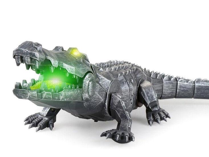 Интерактивный крокодил Feilun (47 см, звук, свет) - FK507