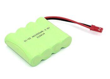 Аккумулятор AAPower hitech AA Ni-Cd AA 4.8v 1800mah форма Flatpack разъем JST