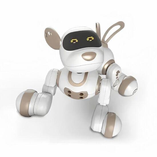Интерактивная собака на пульте Smart Robot Dog Dexterity White Gold - 18011