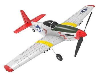 Радиоуправляемый самолет Volantex RC P51D 400мм 2.4G 4ch LiPo RTF with Gyro