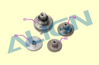 Шестерни G1, G2, G3, G4 сервомашинки BL700H металл