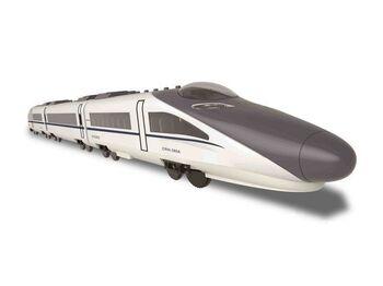 Радиоуправляемый поезд Double Eagle CRH Train 1:18, в составе 3 вагона
