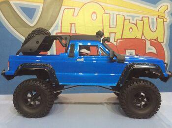 Радиоуправляемый краулер HSP Boxer Pro Blue 4WD 1:10