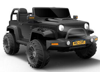 Электромобиль Jeep Hunter Black с полным приводом - CH9938