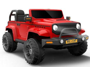 Электромобиль Jeep Wrangler Red с полным приводом - CH9938-RED