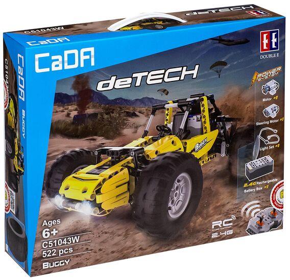 Радиоуправляемый конструктор CADA deTech багги (522 детали) - C51043W