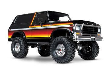 Радиоуправляемая машина Traxxas Ford Bronco Electric Truck Orange 4WD 1:10