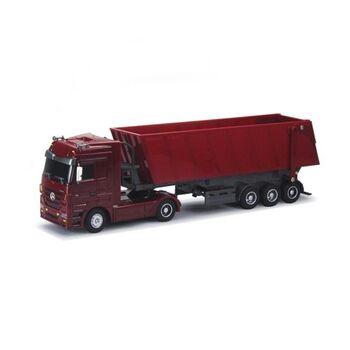 Радиоуправляемый грузовик Mercedes-Benz Actros Dump Trailer 1:32 - QY1101C-R