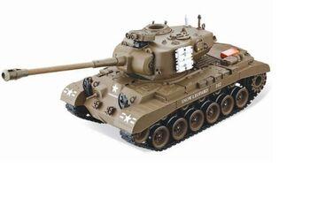 Радиоуправляемый танк  Household Pershing Snow Leopard 1:20