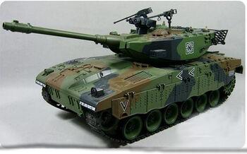 Радиоуправляемый танк HouseHold Israel Merkava 4101-10 масштаб 1:20 27Мгц зеленый