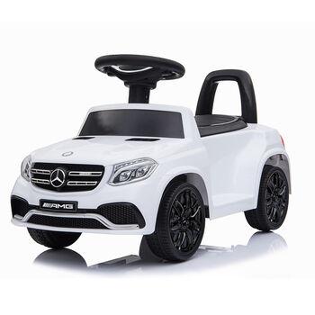 Электромобиль каталка Mercedes-AMG GLS63 + пульт управления - HL600-LUX-WHITE