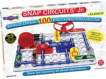Электронный конструктор Snap Circuits Jr. 100 опытов