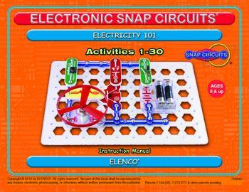 Электронный конструктор Snap Circuits Home Learning
