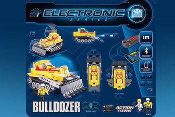 Конструктор COBI Bulldozer с Bluetooth управлением