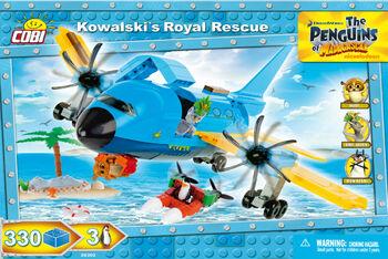 Конструктор COBI Kowalski s Royal Rescue