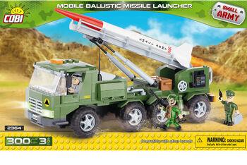 Пластиковый конструктор COBI Mobile Ballistic Missile Launcher