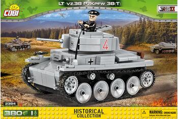 Пластиковый конструктор COBI LT vz.38 Panzer 38t