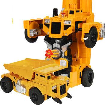 Радиоуправляемый робот-трансформер Самосвал 1:14, стреляет присосками - 2379PF