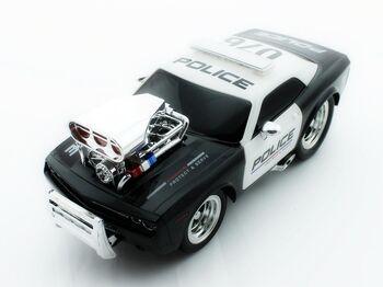 Радиоуправляемая полицейская машина из серии Muscle Car с гоночным Мотором 1/16 свет и звук